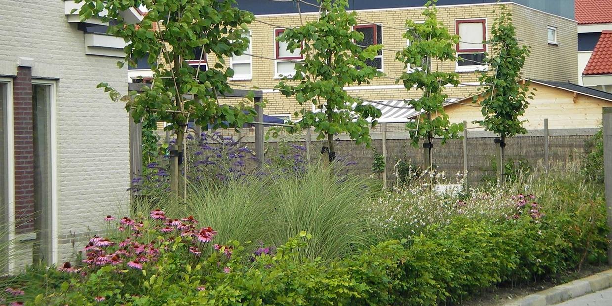 Trendy besloten tuin with tuin beplanten ideeen for Tuin beplanten